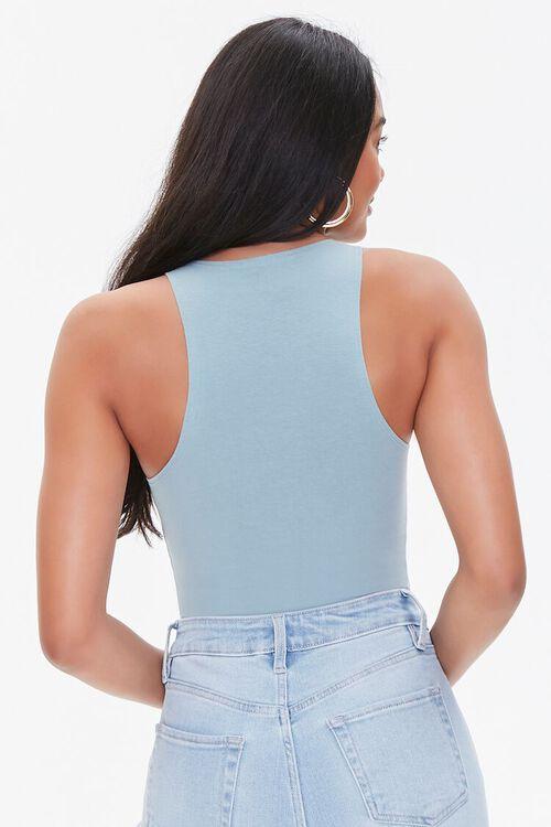 Sleeveless Stretch Bodysuit, image 3