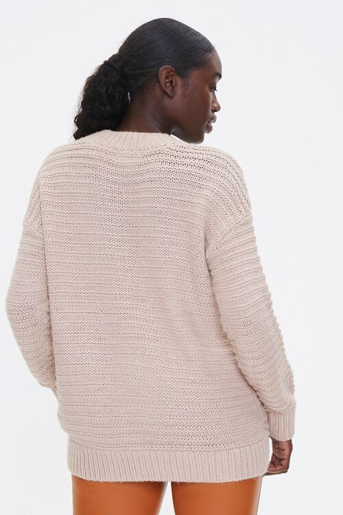 Ribbed Drop-Sleeve Sweater, image 3