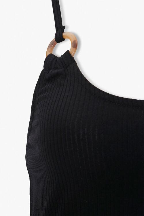 Ribbed Knit Skater Dress, image 4