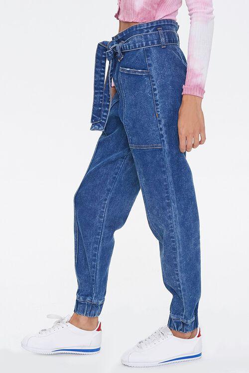 MEDIUM DENIM Paperbag Jogger Jeans, image 3