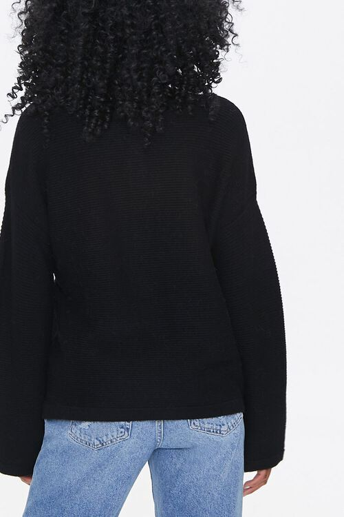 Sweater-Knit Henley Top, image 3