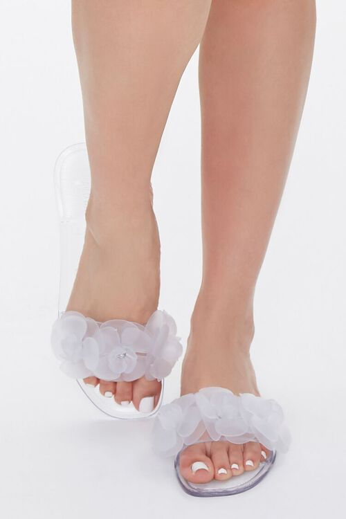 Floral Jelly Sandals, image 4