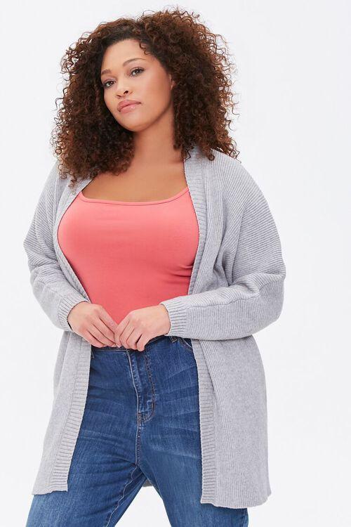Plus Size Cardigan Sweater, image 1