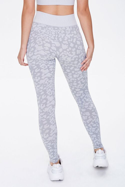 Active Seamless Spotted Print Leggings, image 4