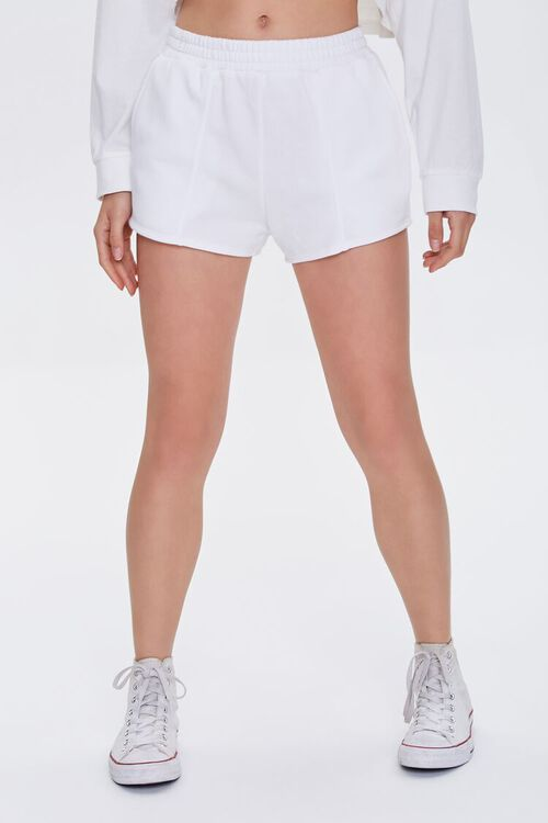 Seamed French Terry Shorts, image 2
