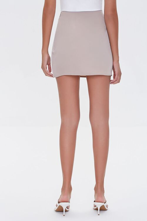 Button-Front Mini Skirt, image 4