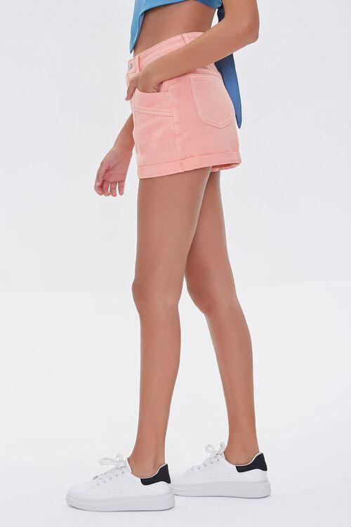 High-Rise Denim Shorts, image 3