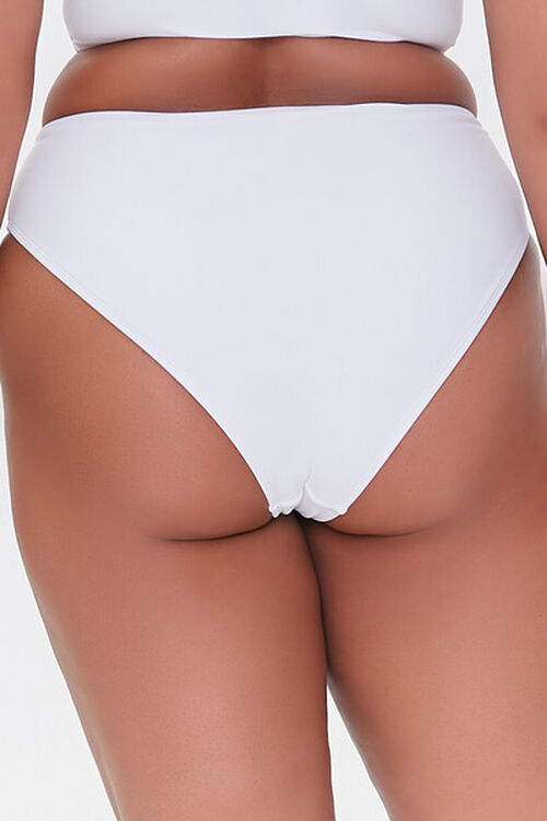 Plus Size Cheeky Bikini Bottoms, image 4