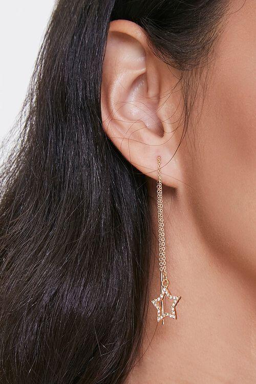 Star Threader Earrings, image 1