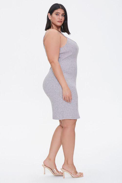 Plus Size Ribbed Cami Dress, image 2