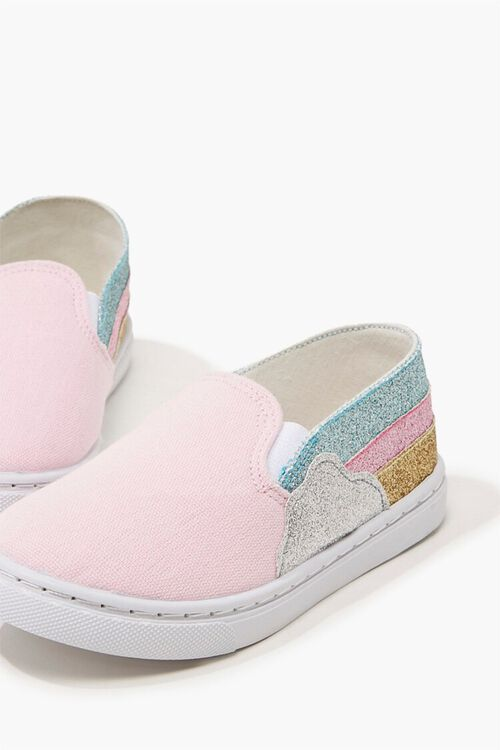 Girls Rainbow Slippers (Kids), image 3