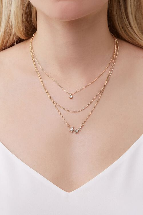 Star Charm Layered Necklace, image 1