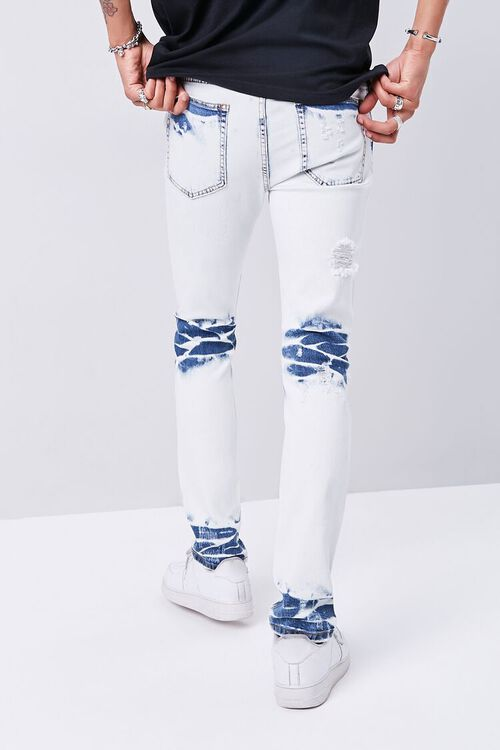 Bleached Slim-Fit Jeans, image 4