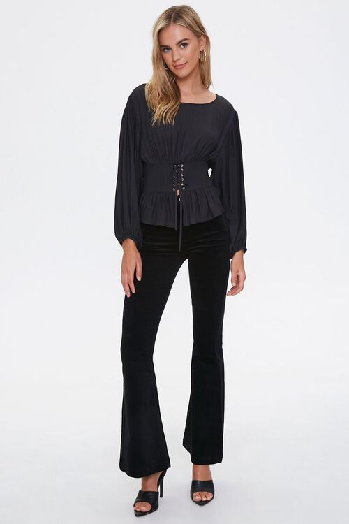 Lace-Up Peasant Top, image 4