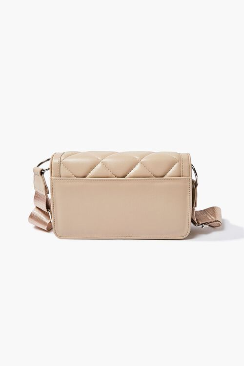 Quilted Grosgrain-Strap Crossbody Bag, image 3