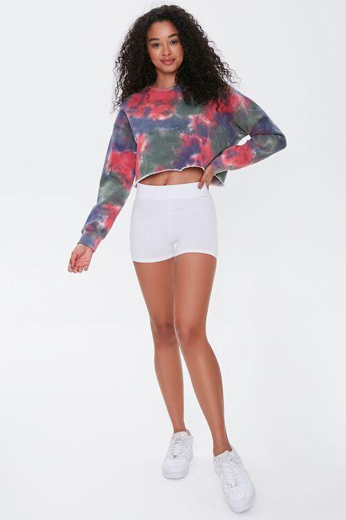 Basic Organically Grown Cotton Biker Shorts, image 5