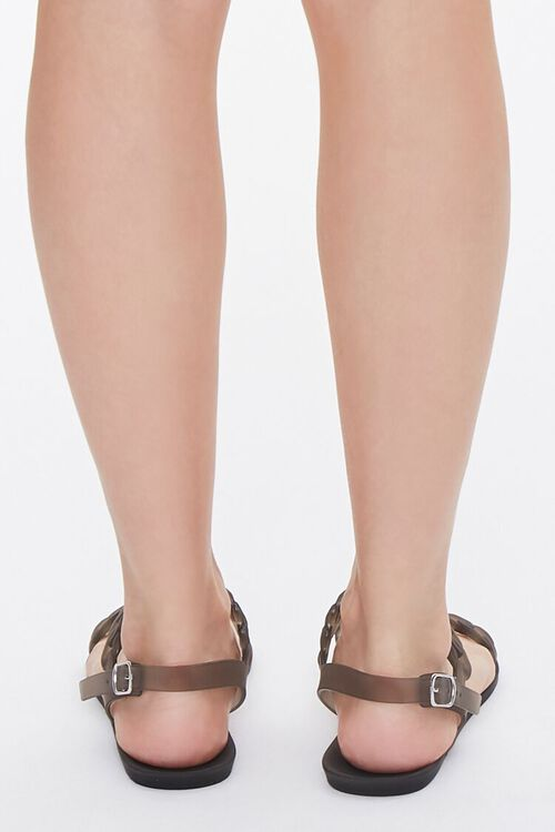 Chain-Strap Jelly Sandals, image 3