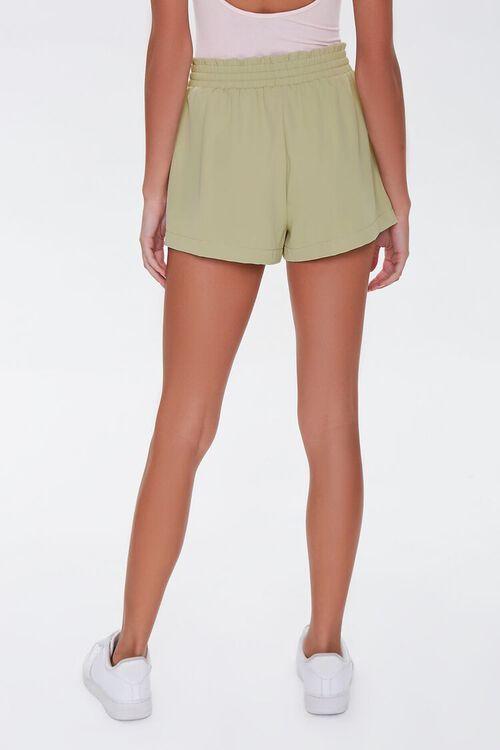 Ruffle Trim Drawstring Shorts, image 4