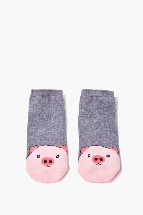 Pig Ankle Socks, image 1