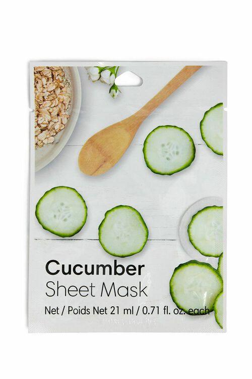 Cucumber Sheet Mask, image 1