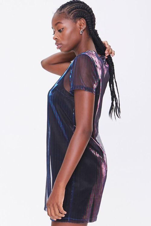 Metallic T-Shirt Dress, image 2