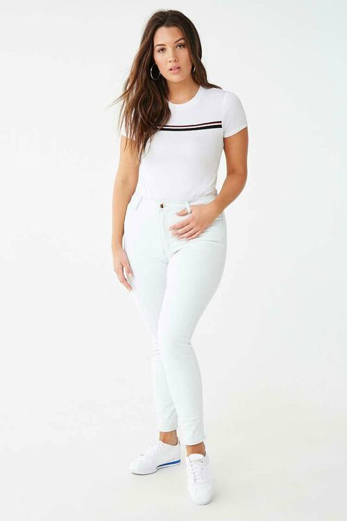 Mid-Rise Skinny Jeans, image 5
