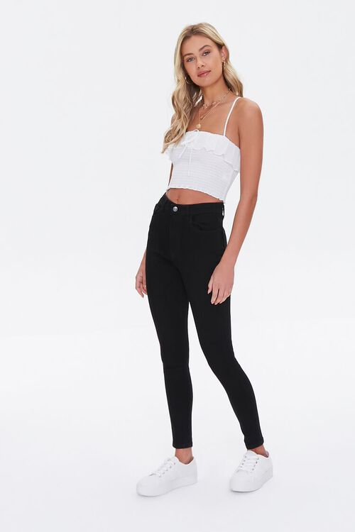 High-Waisted Skinny Jeans, image 1