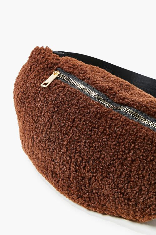 Faux Shearling Fanny Pack, image 2