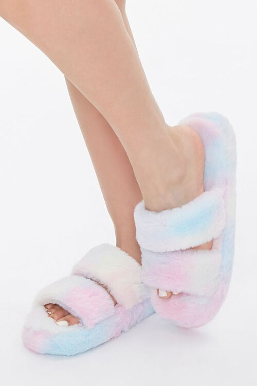 Cloud Wash Faux Fur Slippers, image 1