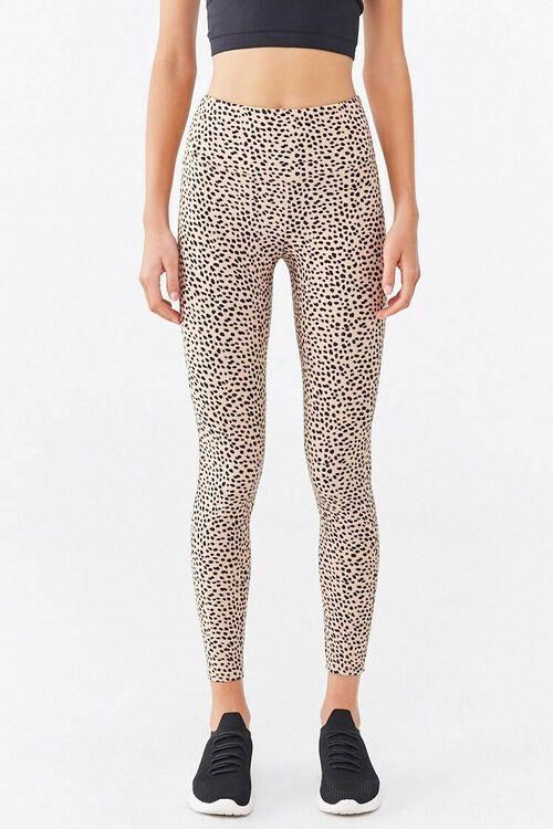 Active Cheetah Print Leggings, image 2