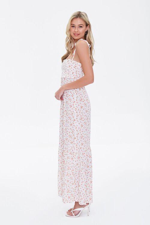 Floral Print Self-Tie Maxi Dress, image 3