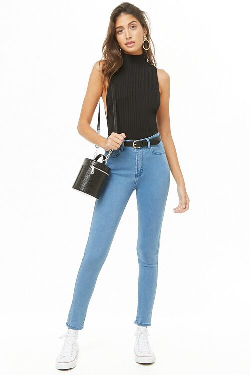 High-Rise Skinny Jeans, image 4