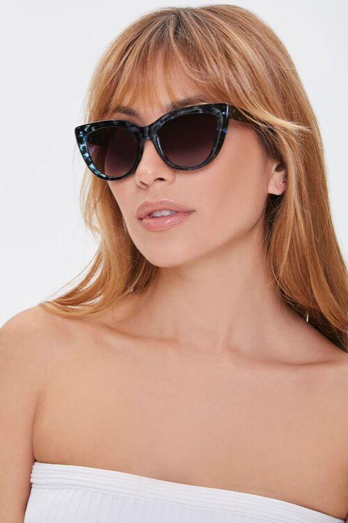 Marbled Cat-Eye Sunglasses, image 1