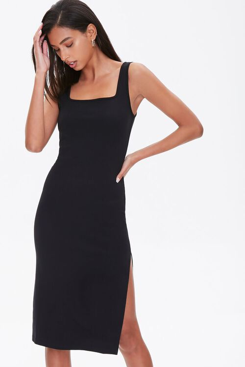 Slit Tank Dress, image 1