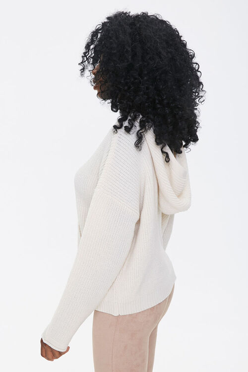 Hooded Drop-Sleeve Sweater, image 2