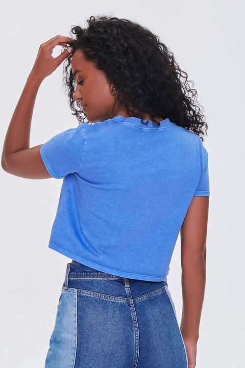 Cropped Mineral Wash Tee, image 3