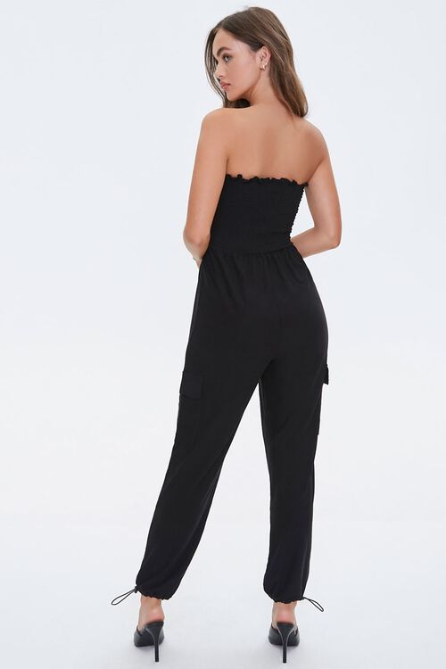 Strapless Smocked Jumpsuit, image 3