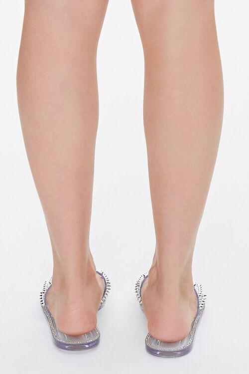 Studded Rhinestone Sandals, image 3