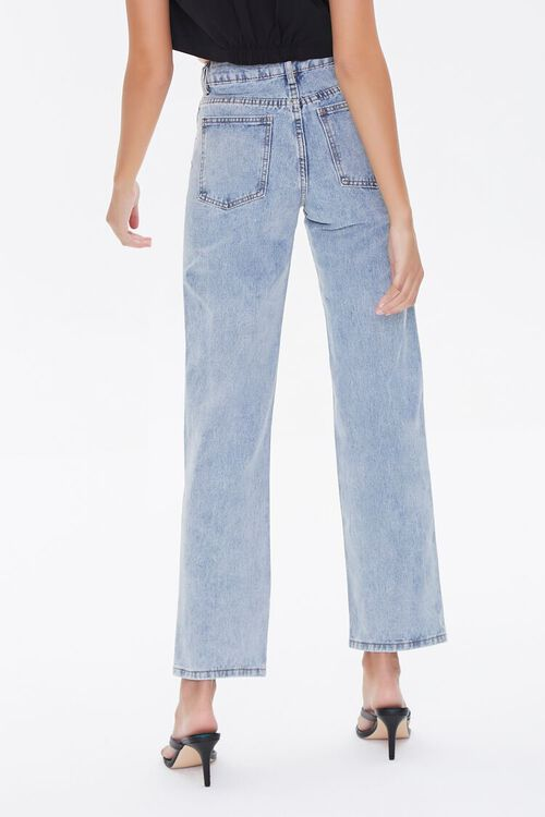 Crisscross Belt Straight-Leg Jeans, image 4