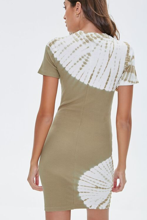 Tie-Dye Wash T-Shirt Dress, image 3