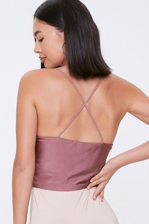 ROSE Crisscross Cropped Cami, image 3