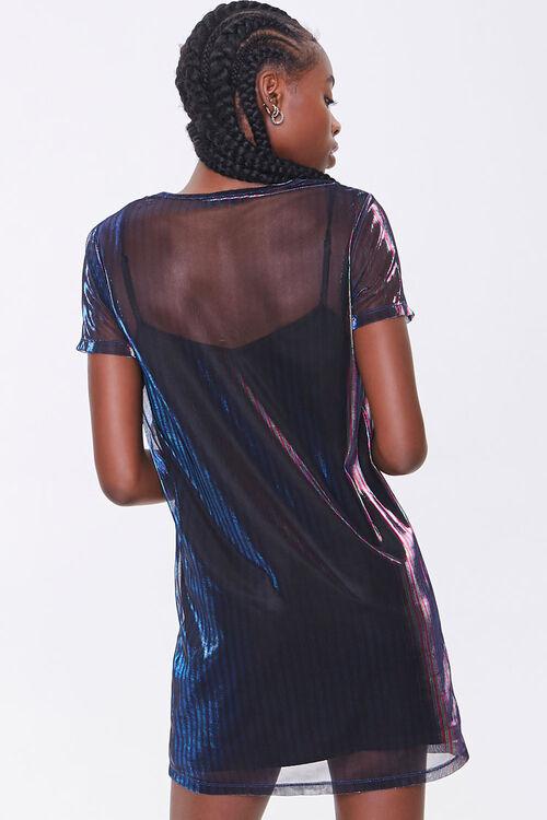Metallic T-Shirt Dress, image 3