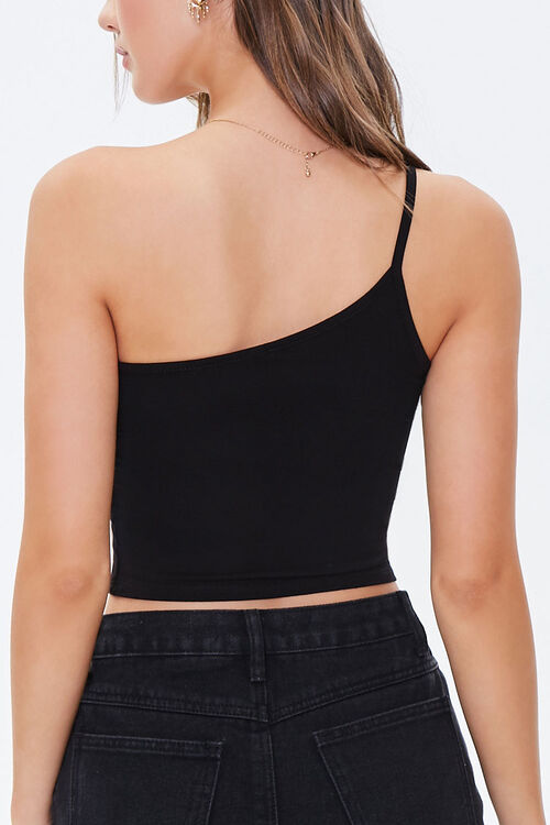 One-Shoulder Cropped Cami, image 3