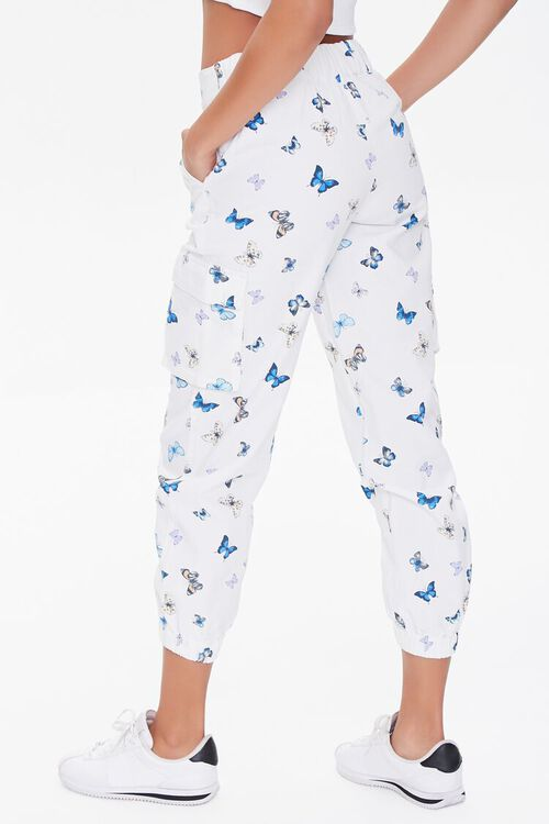 Butterfly Print Joggers, image 4