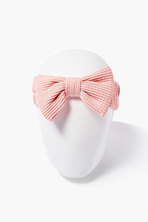 Textured Bow Headwrap, image 1