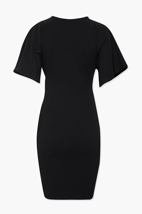 Plunging Bodycon Dress, image 3