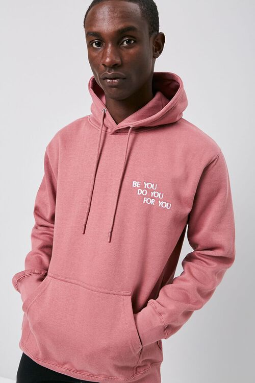 Be You Embroidered Graphic Hoodie, image 1