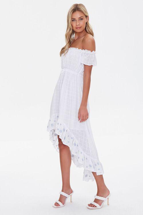 Embroidered Off-the-Shoulder Dress, image 2