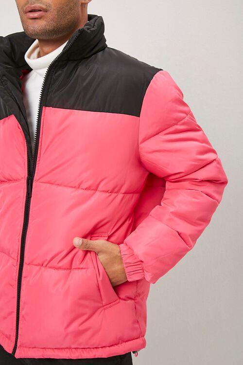 Colorblock Puffer Jacket, image 1