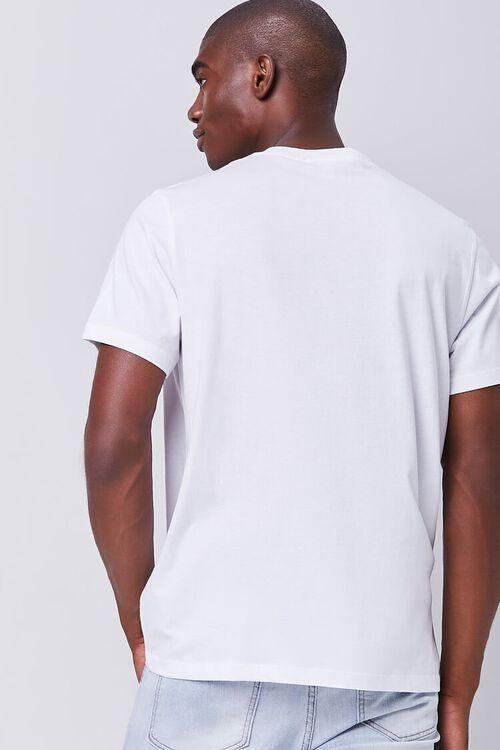 WHITE/BLACK Organically Grown Cotton Millennial Graphic Tee, image 3